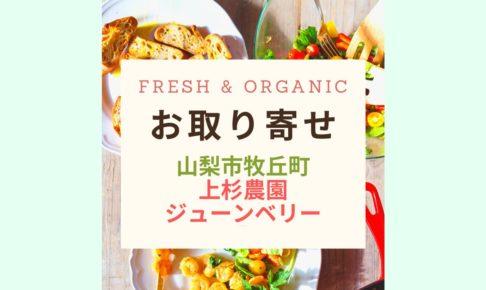 Fresh & Organicジューンベリー