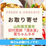 Fresh & Organic寅ちゃん葱